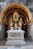 Altar maggiore dentro la cattedrale del san Domnius nella spaccatura, croato Immagini Stock Libere da Diritti