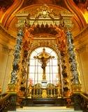 Altar maggiore, Eglise du Dome, Parigi immagini stock