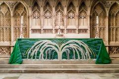 Altar maggiore nell'abbazia del bagno Fotografia Stock