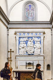 Altar in Medici chapel of Basilica di Santa Croce Royalty Free Stock Images
