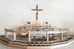 Altar moderno Imagen de archivo