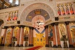 Altar na catedral Imagem de Stock