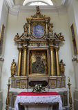 Altar of The Old Catholic Church in Warsaw Royalty Free Stock Photo