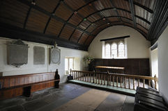 Altar of The Old Church, Penallt Stock Photography