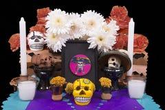 Altar para la gente muerta Imágenes de archivo libres de regalías