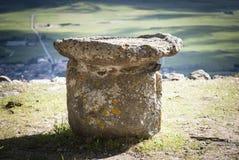 Altar prehistórico Imagen de archivo libre de regalías