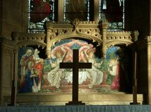 Altar and reredos Stock Images
