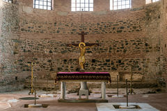The altar of the Rotunda of Galerius in Thessaloniki - Greece Stock Image