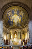 Altar in Sacre Coeur Royalty Free Stock Images