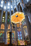 Altar of Sagrada Familia Church, Barcelona, Spain Stock Photo