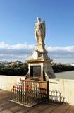 Altar of Saint Raphael in the Roman bridge of Cordoba, Spain Stock Image