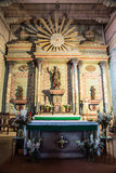 The Altar at San Miguel Arcangel Stock Photography