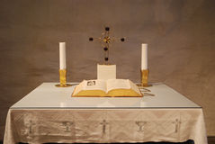 Altar of Simplicity Royalty Free Stock Images