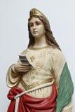 Altar of St. Cecilia Stock Photo