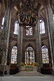 Altar of St. Lorenz Church, Nuremberg, Germany Royalty Free Stock Photography