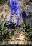 Altar and statue of santa rosalia, palermo Stock Images