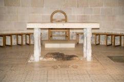 Altar of Tabgha Stock Photo