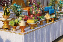 A Set of altar table Royalty Free Stock Photos
