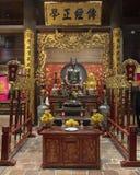 Altar to Chu Văn An, rector of the imperial academy stock photos