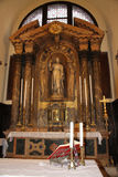Altar in venice royalty free stock image
