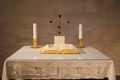 Altar von Einfachheit Lizenzfreie Stockbilder