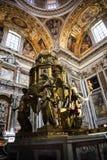 Altar von Sistine-Kapelle und Rhetorik der Geburt Christi in der Basilika von Santa Maria Maggiori in Rom Italien Stockfotos