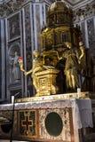 Altar von Sistine-Kapelle und Rhetorik der Geburt Christi in der Basilika von Santa Maria Maggiori in Rom Italien Stockfotografie