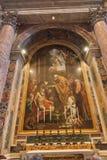 Altar von St Jerome Stockbild