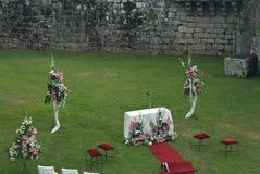 Altar wedding Royalty Free Stock Photos