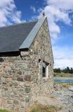 Church of the Good Shepherd at Lake Tekapo, NZ royalty free stock images