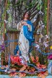 Altare al vergine dettagliatamente Fotografia Stock