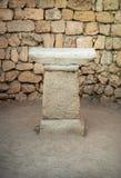 Altare antico Fotografia Stock