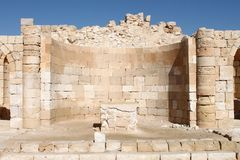 Altare antico della chiesa Fotografie Stock
