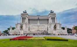 Altare av fäderneslandet i Rome Italien Royaltyfri Fotografi