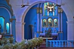 Altare av kyrkan av St John det baptistiskt, Bahia Royaltyfria Bilder