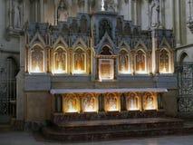 Altare av kyrkan av St Louis des Chartrons Arkivbild