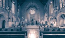 Altare B della cattedrale di Cardiff Immagine Stock Libera da Diritti