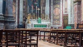 Altare B di Londra di oratoria Immagini Stock