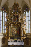 Altare barrocco Fotografia Stock Libera da Diritti