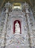Altare barrocco di San Giuseppe - di Palermo in chiesa San Domenico Immagine Stock