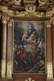Altare in basilica della st Vitus in Ellwangen, Germania Fotografia Stock Libera da Diritti