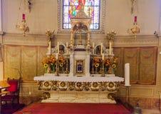 Altare basilico del ¡ n di Budapest Szent Istvà Immagini Stock