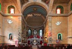 Altare Brasile della cattedrale di Manaus Fotografie Stock