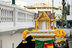 Altare buddista tailandese Immagine Stock Libera da Diritti