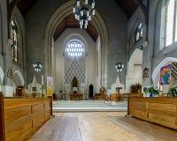 Altare C della cattedrale di Cardiff Immagine Stock