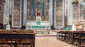 Altare C di Londra di oratoria Immagine Stock Libera da Diritti