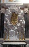 Altare in cappella Cenami, basilica di San Frediano, Lucca, Italia Fotografie Stock