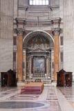 Altare in cattedrale Immagine Stock Libera da Diritti