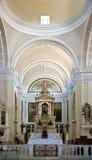 Altare in cattedrale Fotografie Stock