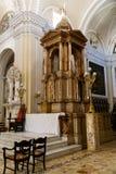 Altare in cattedrale da Leon, Nicaragua Immagini Stock